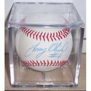 Tony Oliva Autographed MLB Baseball Signed Twins ROY