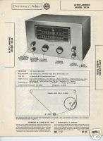 Altec Lansing 303A Tuner Sams Photofact Technical Docs
