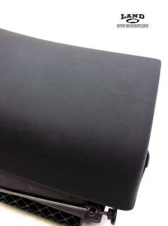 BMW 7 SERIES E38 BLACK DASH GLOVE BOX & FRAME