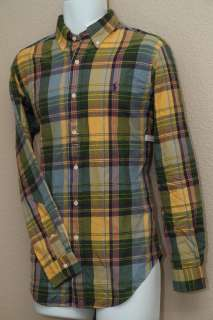 Ralph Lauren Classic Fit Buttondown Plaid Flannel LS Shirt NWT