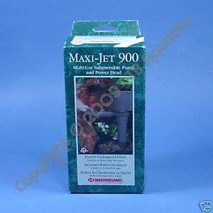 MARINELAND MAXIJET 900 MAX JET POWERHEAD POWER HEAD