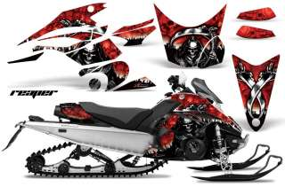 SNOWMOBILE DECAL SNOW SLED GRAPHIC KIT YAMAHA FX NYTRO 08 12 REAPER R