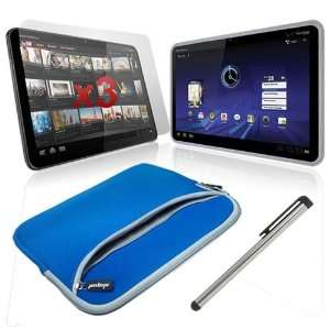 Skque Motorola Xoom Tablet 10.2 inch Premium Dual Pocket Carrying Case