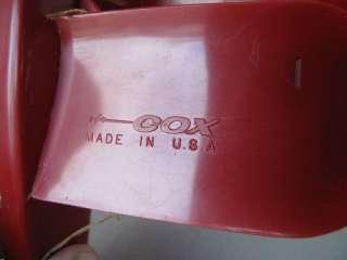Cox Red Baron Backyard Gas Engine model Airplane with 020 TeeDee