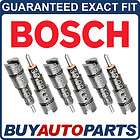 BRAND NEW GENUINE OEM BOSCH DIESEL FUEL INJECTOR SET FOR DODGE RAM