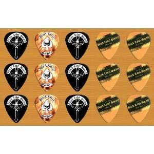 Black Label Society Premium Guitar Picks x 15 Medium
