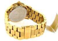 Michael Kors Ladies Yellow Gold Tone Steel Bracelet Dress Watch MK5160