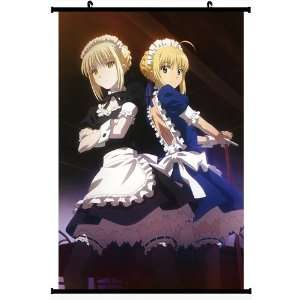 Fate Zero Fate Stay Night Extra Anime Wall Scroll Poster Saber Alter