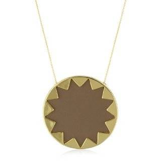 House of Harlow 1960 Gold Plated Antler Pendant Necklace