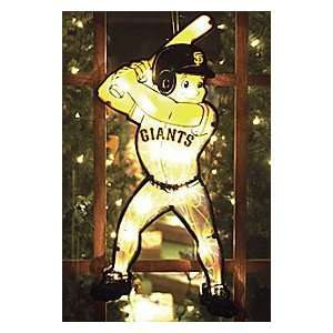 San Francisco Giants 20 Double Sided Window Light Up