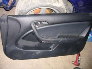 02 06 ACURA RSX TYPE S PASSENGER DOOR PANEL BLACK