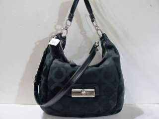 COACH KRISTIN SATIN LARGE HOBO BAG 16811