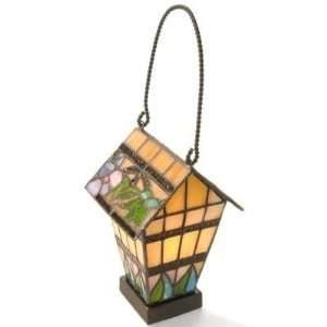 Stained Glass Birdhouse Accent Lamp Home Improvement