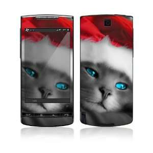 HTC Pure Skin Decal Sticker   Christmas Kitty Cat
