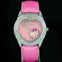 Color HelloKitty Girls Lady Crystal Quartz Wrist Watch, Y21 PK