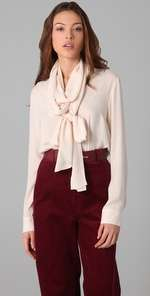 By Malene Birger Lonnie Blouse with Neck Tie