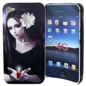 Iphone 4 Hard Case   Spirit Girl Series
