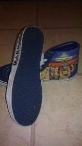 Vans Iron Maiden Powerslave Limited Edition Rare SK8 Hi Top Shoes Mens