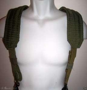 Army Military Surplus Combat Load Bearing Suspenders