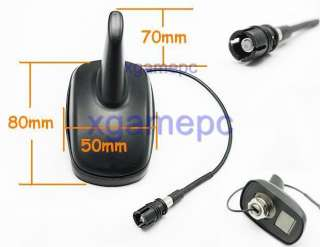 VW SHARK FIN ANTENNA GTI JETTA PASSAT POLO GOLF