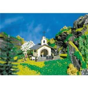 Faller 130243 Mountain Chapel With Wrought Iron Gates Era