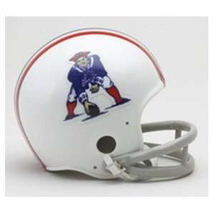 England Patriots Throwback Mini Helmet:  Sports & Outdoors