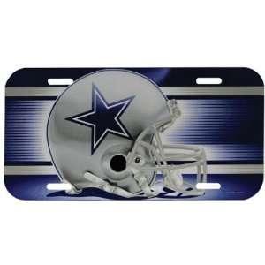 Dallas Cowboys   Giant Helmet License Plate, NFL Pro