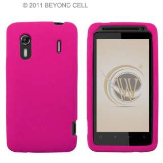 Hot Pink Skin for Sprint HTC Evo Design 4G Silicone Rubber Case