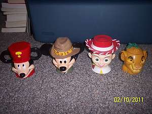 Ice Mug/Cup Mickey Mouse, The Lion King Simba, Jesse Toy Story Pick 1