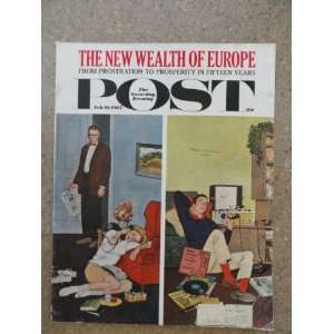 The Saturday Evening Post Magazine February 10,1962 (Cover Only) cover
