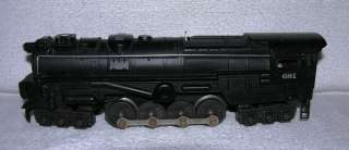 LIONEL LINES STEAM ENGINE AND PRR TENDER CAR 681 & 2671