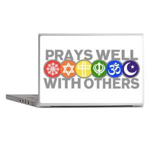 Cover Prays Well With Others Hindu Jewish Christian Peace Symbol Sign
