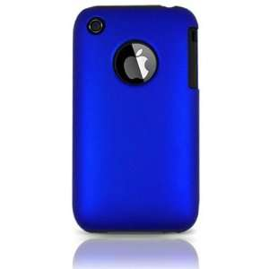 3G and iPhone 3G S Hybrid Dual Protector Case Type2   Black/Blue (Free