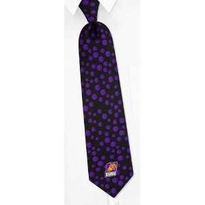 NBA Phoenix Suns Conservative black silk Tie Sports