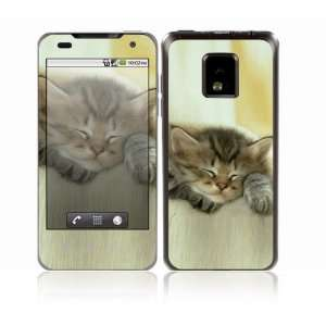 Kitty Design Decorative Skin Cover Decal Sticker for LG T mobile G2x