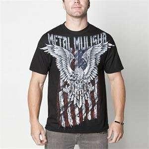 Metal Mulisha Patriot Custom T Shirt   Large/Black Automotive