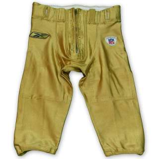 St. Louis Rams Game Worn Pants Gold Size 34