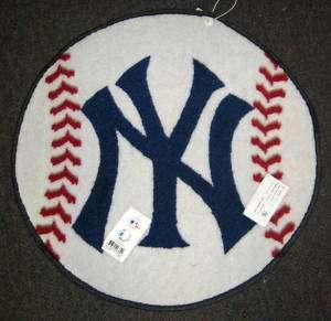 New York Yankees Official MLB Licensed BASEBALL RUG