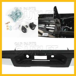 2007   2011 CHEVROLET SILVERADO OEM REPLACEMENT REAR STEP BUMPER