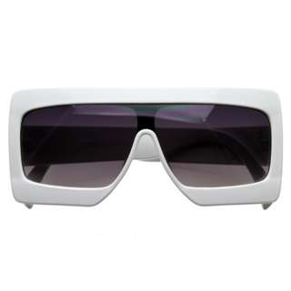 Super Futuristic Large Square Party Novelty Music Video Sunglasses