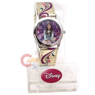 Wizards of Waverly Place Selena Gomez Wrist Watch Gold