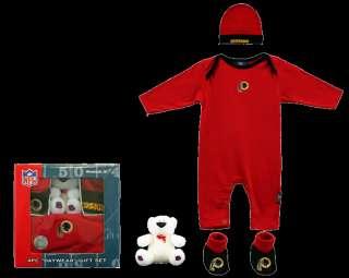 Washington Redskins 4 pc Infant Gift Set