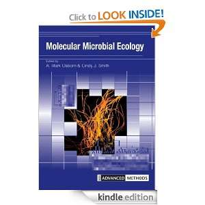 Molecular Microbial Ecology (Advanced Methods): Dr Cindy J.Smith, Mark
