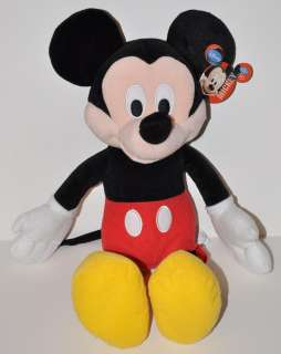 MICKEY MOUSE PLUSH DOLL LICENSED 15 DISNEY TOY DOLL NWT CUTE USA