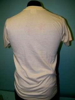 Vintage 87 HOUSTON Police RACE 50/50 T Shirt M emo mod