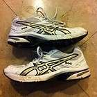 ASICS Gel Treadmil White Tennis Volleyball Trainer Shoes Gels