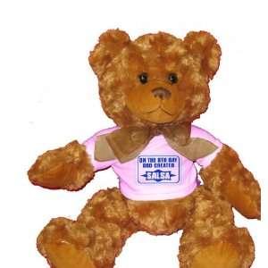 ON THE 8TH DAY GOD CREATED SALSA Plush Teddy Bear with