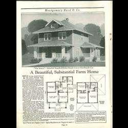 Wayward Homes {7 Vintage Catalogs} Montgomery Ward on CD