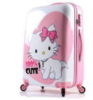 Hello Kitty figure travel Luggage Bag Trolley Troller Roller Rolling