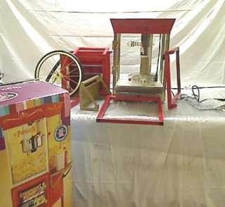 Electrics CCP 610 Vintage Collection 59 Inch Popcorn/Concession Cart
